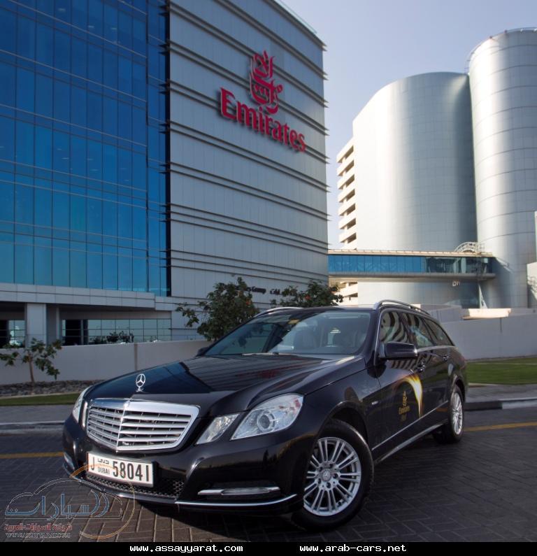 اختيار سيارات مرسيدس-بنز لتمنح المسافرين