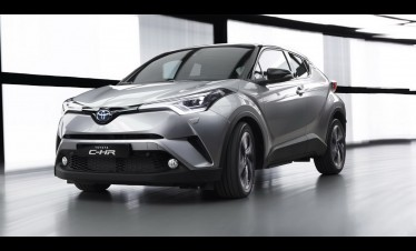 Toyota C-HR supplied engine 1.2-liter turbo and 1.8-liter Hybrid at Geneva 2016