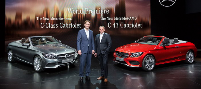 C 43 4Matic Kaborlah new. . Mercedes star glittering in Geneva in 2016