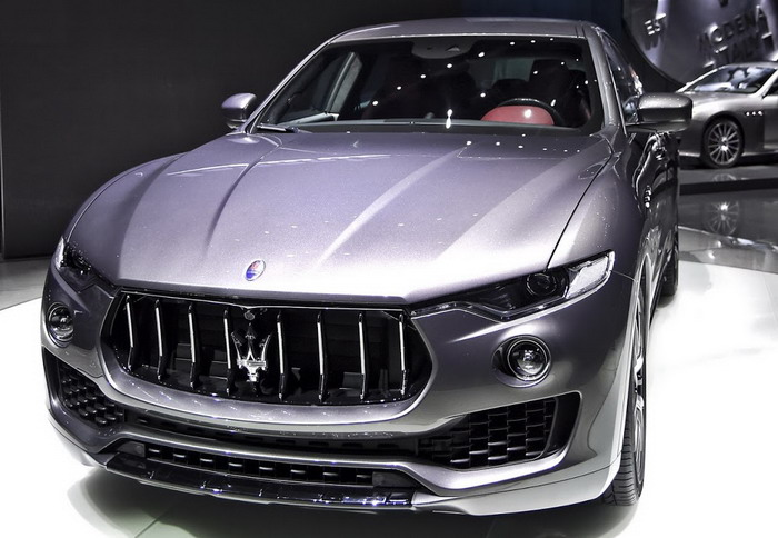 The new Maserati Levante reveal full details in Geneva in 2016
