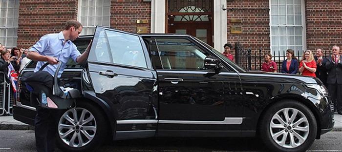 عرض سيارة الأمير ويليام الرانج روفر للبيع بالمزاد لصالح مؤسسة خيرية coobra.net