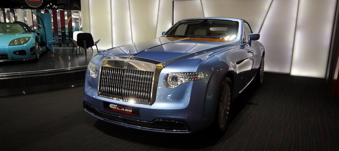 Rolls-Royce Hyperion, the only one of its kind offered for sale in the UAE