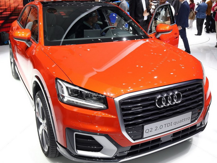 The new Audi Q2 targeting young bold design and 6 engines in Geneva in 2016