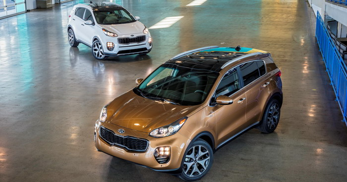 New Kia Sportage offers a starting price of US $ 22.990 in the United States