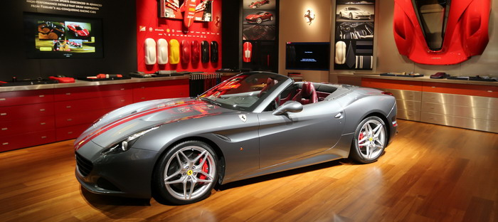 Ferrari raise the amount of competition in Geneva in 2016 with a bouquet of California and the Model T HS GTC4Lusso