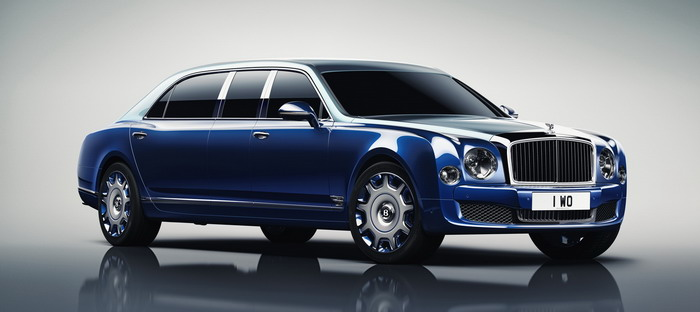 Bentley Mulsanne provide a copy of Grand Limousine length by millionaire developer
