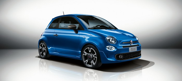 Fiat launches version sports 500S in Geneva in 2016