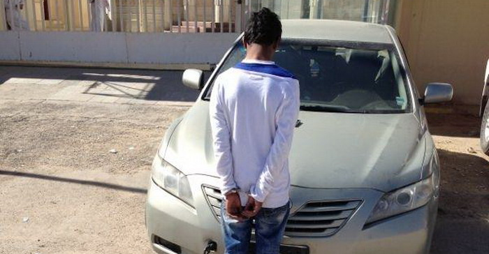 القبض سيارات الرياض سيارة مختلفة
