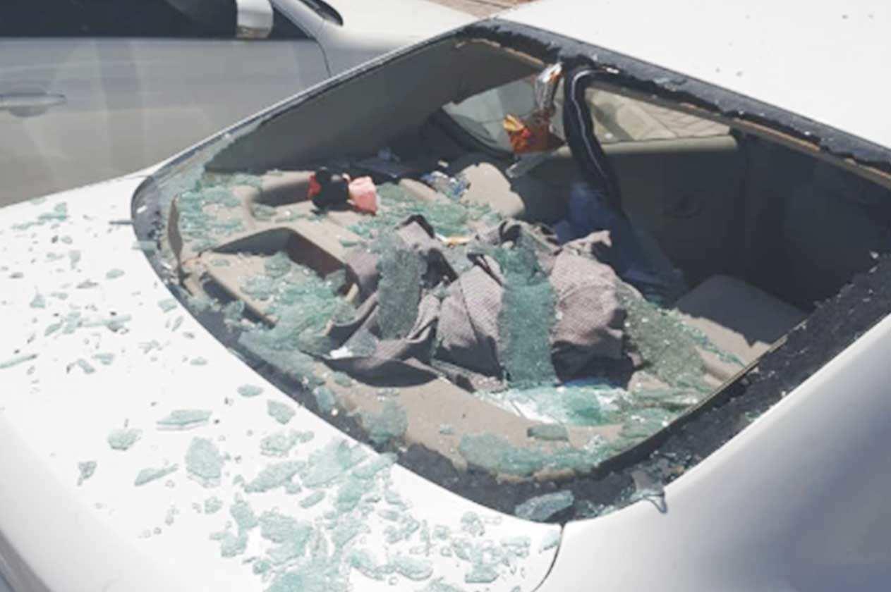 عبوة معطر تتسبب في انفجار داخل سيارة بسبب الحرارة بالسعودية