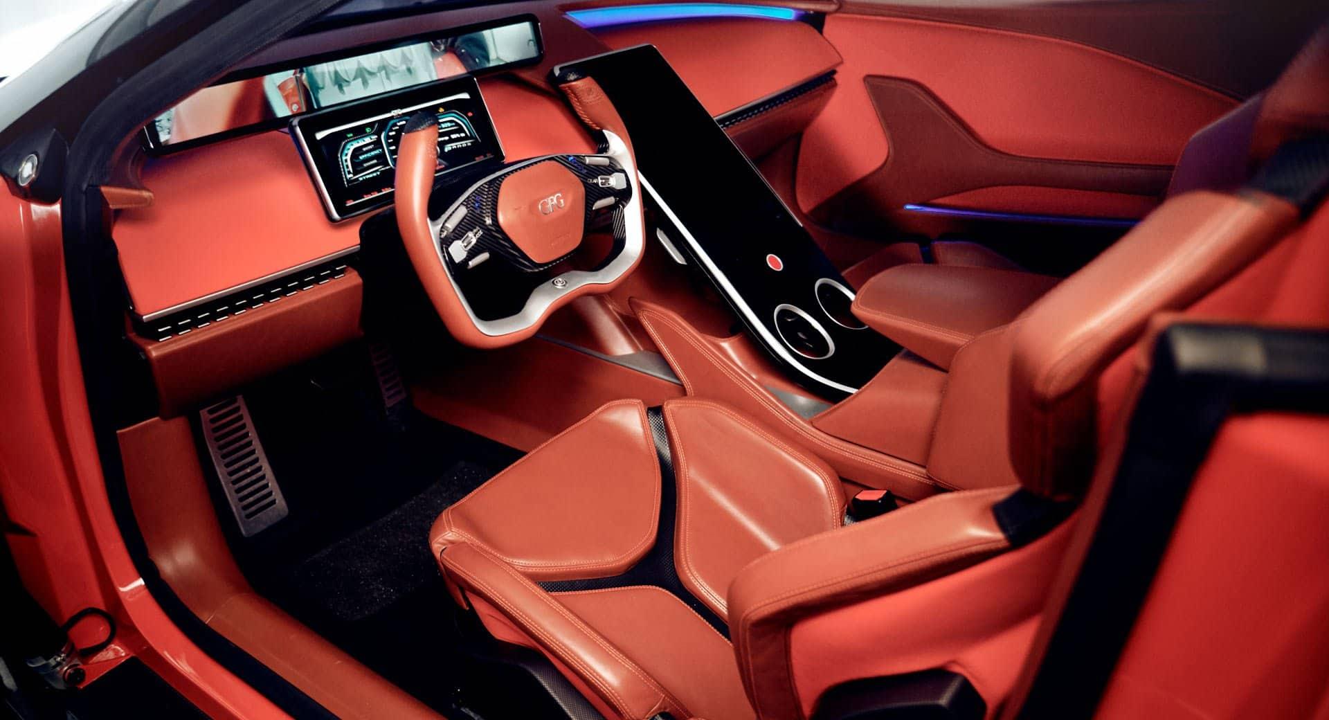 Gfg ستايل كانجارو سيارة كروس أوفر كهربائية خارقة بقوة 483 حصان في جنيف السيارات الموقع العربي الأول للسيارات