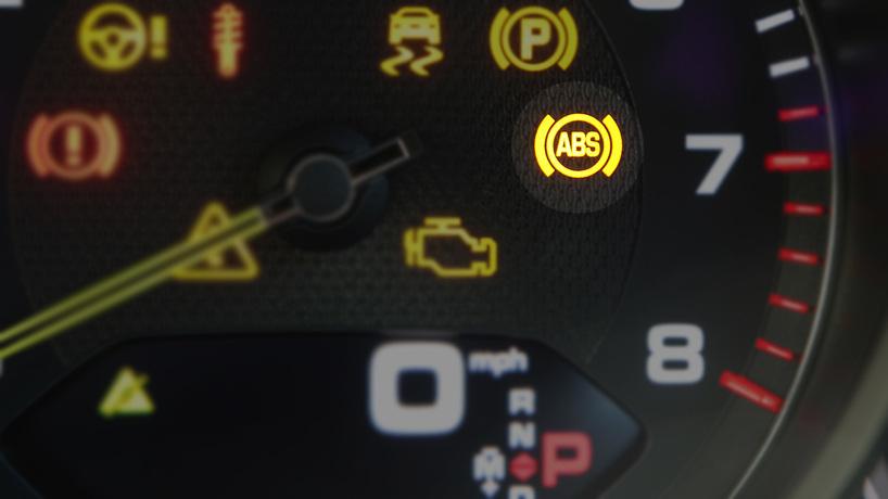 إضاءة شارة ABS