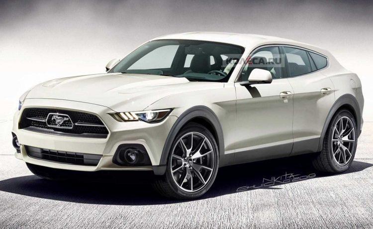فورد موستانج ستتحول الي سيارة ford-mustang-suv-red