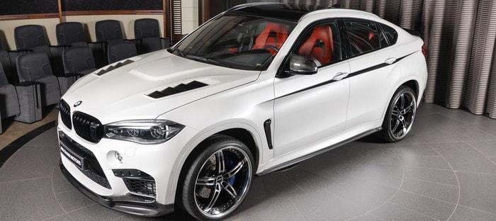 Bmw X6 M بلمسات 3d Design تضيف مزيد من الإثارة في أبوظبي السيارات